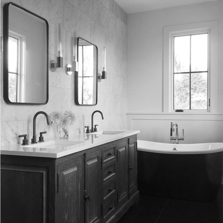Master Bathroom in new Madison Park Residence